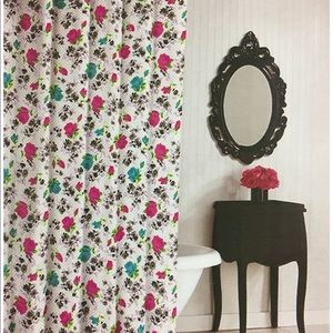 Betsey Johnson Pretty Polka Dot shower curtain
